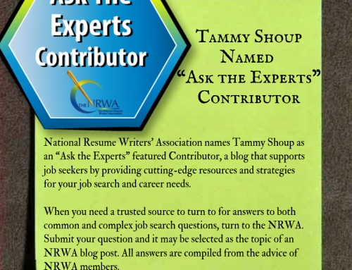 "Tammy Shoup Named ""Ask the Expert"" Contributor by the NRWA"