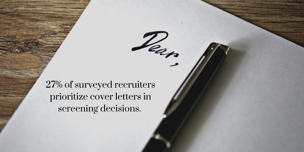 Do I Need A Cover Letter?