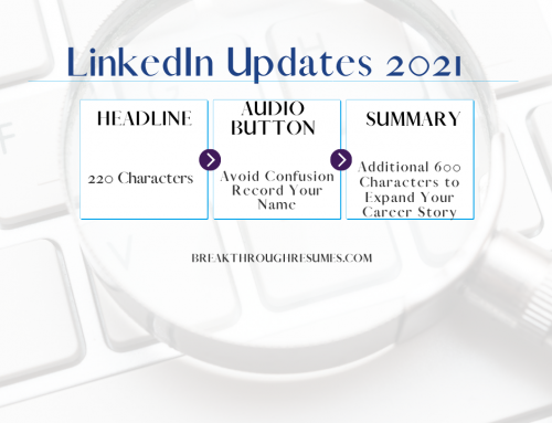 LinkedIn Updates 2021 Edition